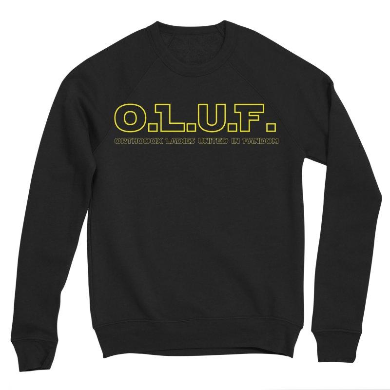 OLUF Star Wars Logo 3 Men's Sponge Fleece Sweatshirt by SteampunkEngineer's Shop