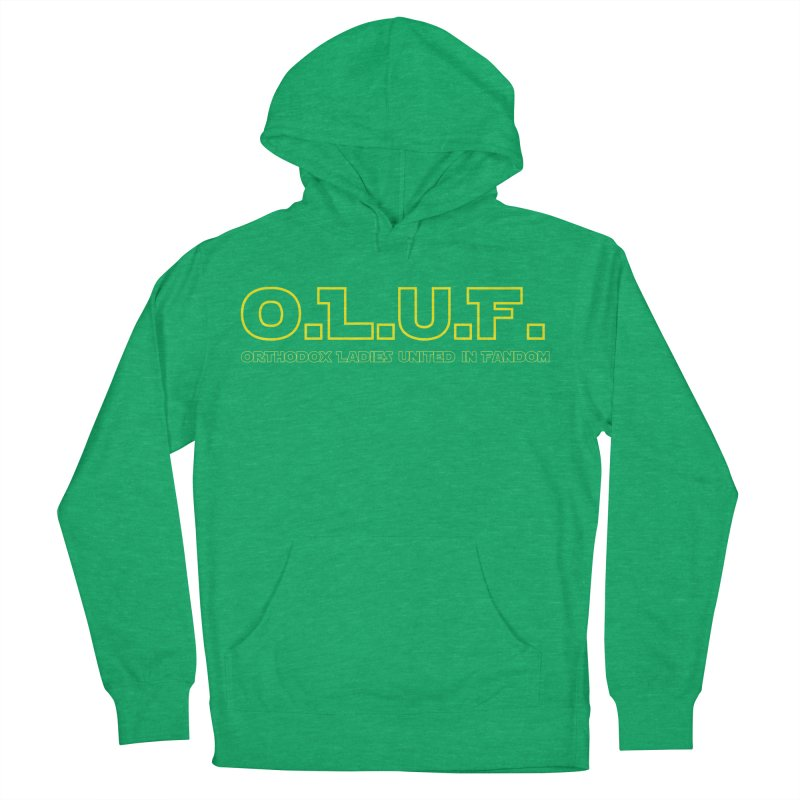 OLUF Star Wars Logo 3 Women's French Terry Pullover Hoody by SteampunkEngineer's Shop