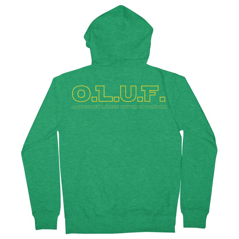 OLUF Star Wars Logo 3 Women's Zip-Up Hoody by SteampunkEngineer's Shop