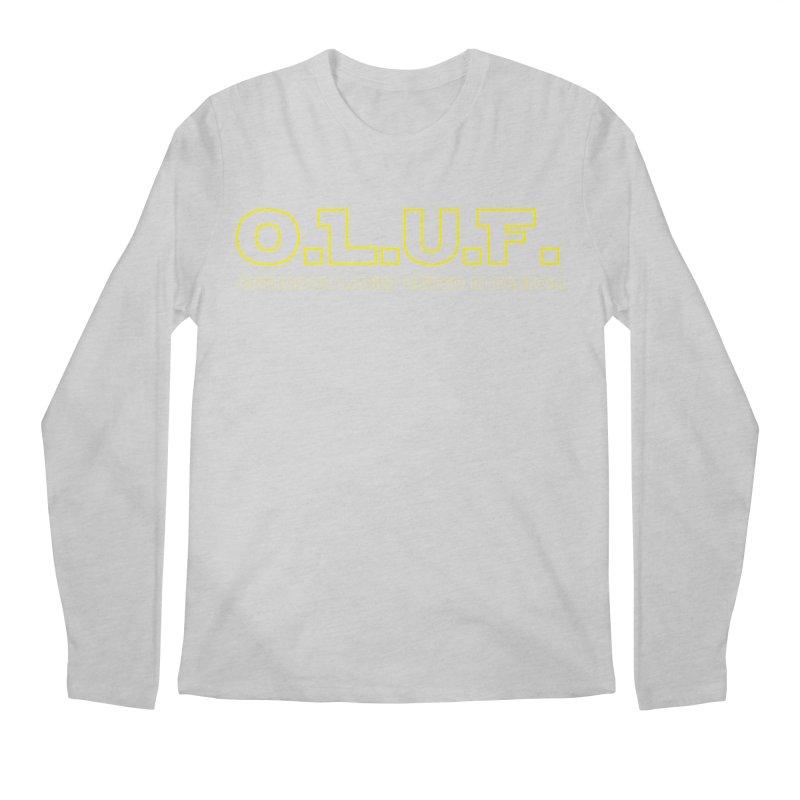 OLUF Star Wars Logo 3 Men's Regular Longsleeve T-Shirt by SteampunkEngineer's Shop