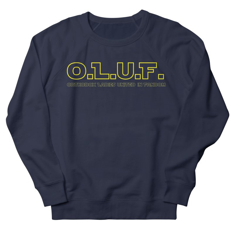 OLUF Star Wars Logo 3 Men's French Terry Sweatshirt by SteampunkEngineer's Shop