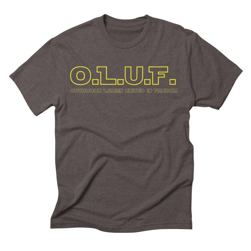 OLUF Star Wars Logo 3 Men's Triblend T-Shirt by SteampunkEngineer's Shop