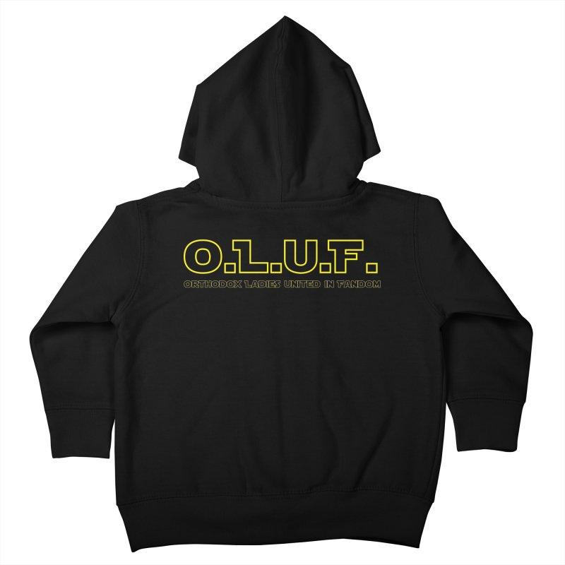 OLUF Star Wars Logo 3 Kids Toddler Zip-Up Hoody by SteampunkEngineer's Shop