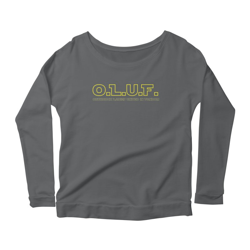 OLUF Star Wars Logo 3 Women's Scoop Neck Longsleeve T-Shirt by SteampunkEngineer's Shop