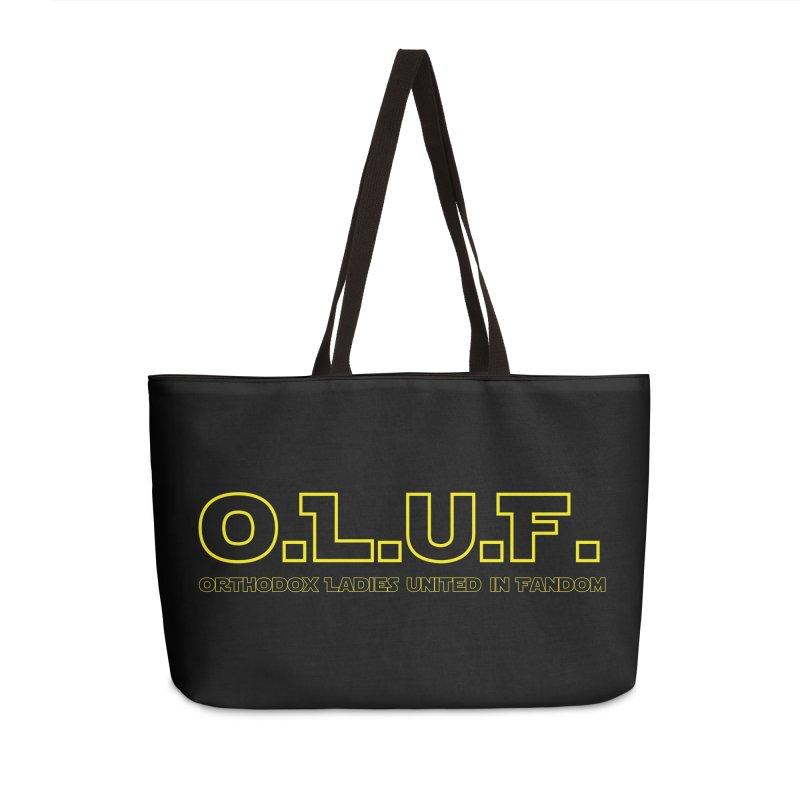 OLUF Star Wars Logo 3 Accessories Weekender Bag Bag by SteampunkEngineer's Shop
