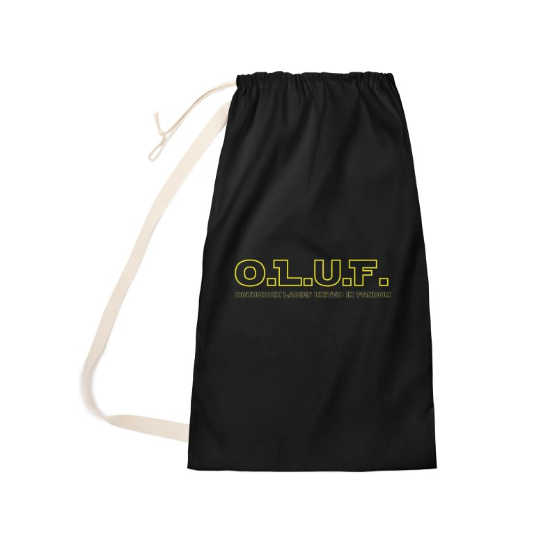 OLUF Star Wars Logo 3 Accessories Laundry Bag Bag by SteampunkEngineer's Shop