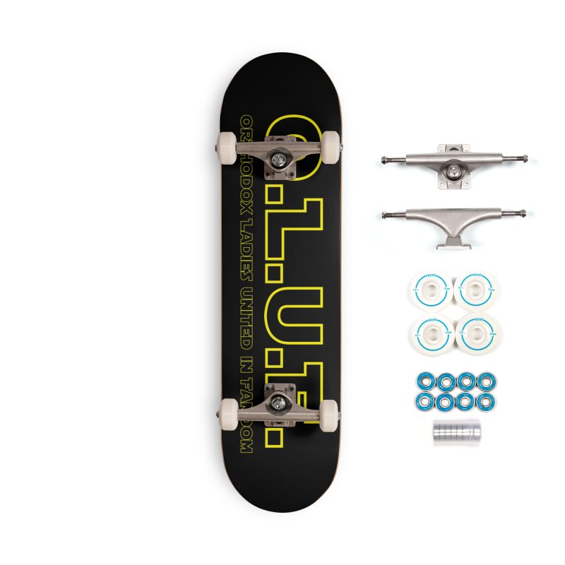 OLUF Star Wars Logo 3 Accessories Complete - Basic Skateboard by SteampunkEngineer's Shop