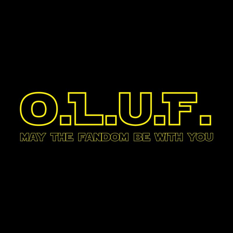 OLUF Star Wars Logo 4 Home Stretched Canvas by SteampunkEngineer's Shop