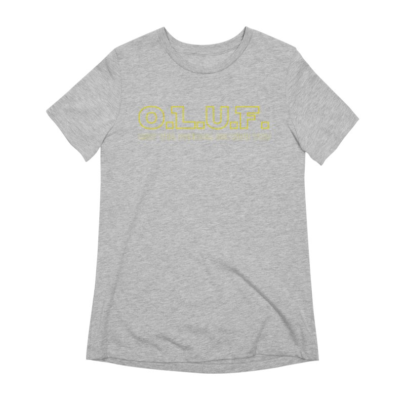 OLUF Star Wars Logo 4 Women's Extra Soft T-Shirt by SteampunkEngineer's Shop