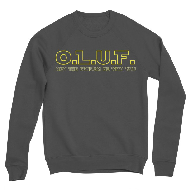 OLUF Star Wars Logo 4 Men's Sponge Fleece Sweatshirt by SteampunkEngineer's Shop