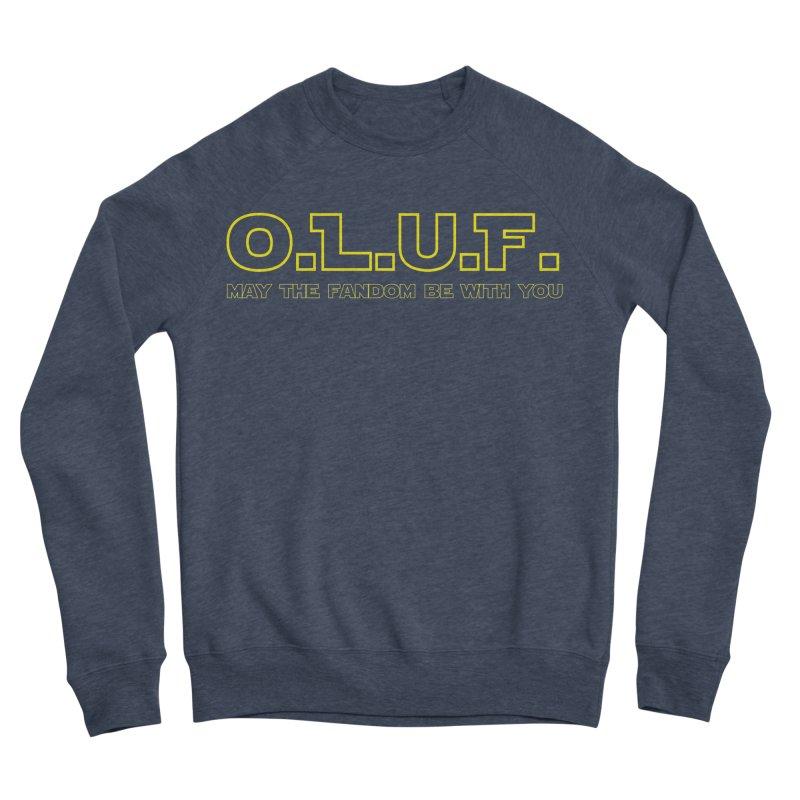 OLUF Star Wars Logo 4 Men's Sponge Fleece Sweatshirt by SteampunkEngineer's Shop