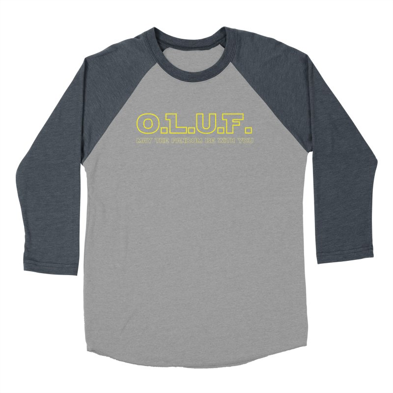OLUF Star Wars Logo 4 Men's Baseball Triblend Longsleeve T-Shirt by SteampunkEngineer's Shop