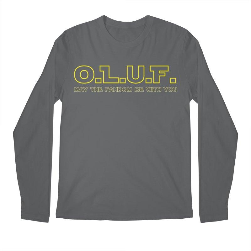 OLUF Star Wars Logo 4 Men's Regular Longsleeve T-Shirt by SteampunkEngineer's Shop