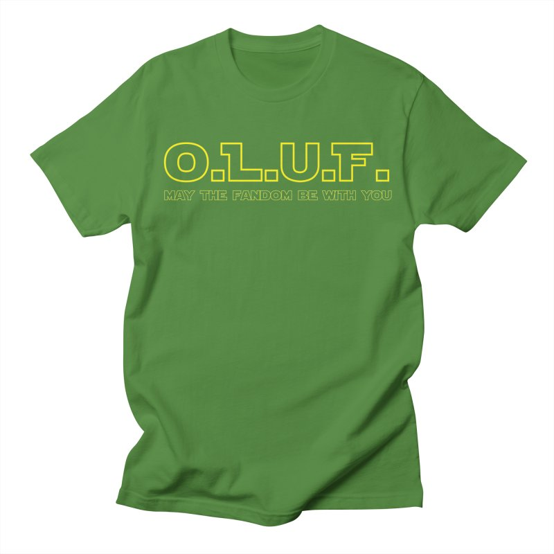 OLUF Star Wars Logo 4 Men's T-Shirt by SteampunkEngineer's Shop