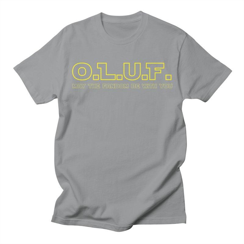 OLUF Star Wars Logo 4 Women's Regular Unisex T-Shirt by SteampunkEngineer's Shop