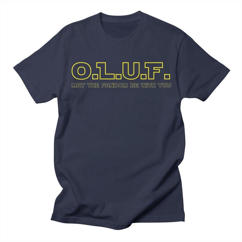 OLUF Star Wars Logo 4 Men's Regular T-Shirt by SteampunkEngineer's Shop