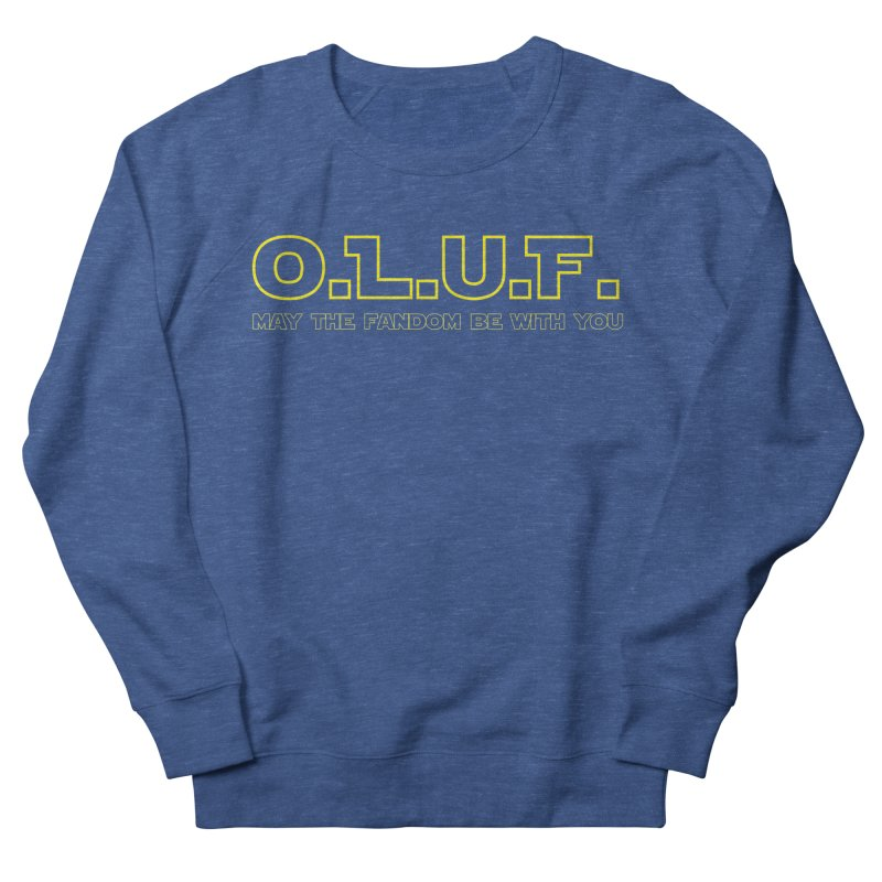 OLUF Star Wars Logo 4 Men's French Terry Sweatshirt by SteampunkEngineer's Shop