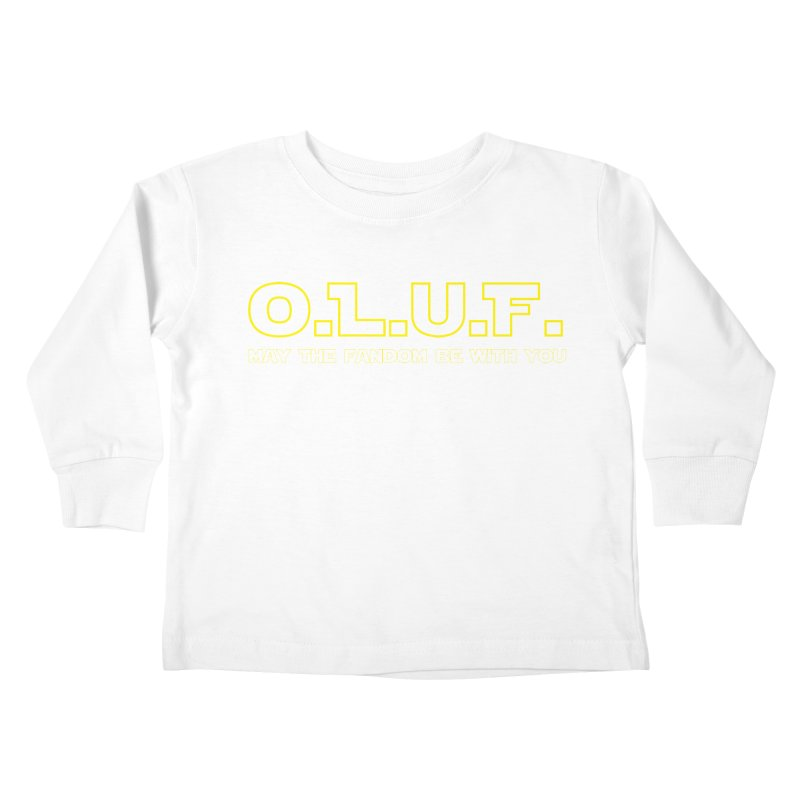 OLUF Star Wars Logo 4 Kids Toddler Longsleeve T-Shirt by SteampunkEngineer's Shop