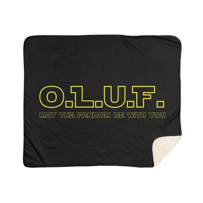 OLUF Star Wars Logo 4 Home Sherpa Blanket Blanket by SteampunkEngineer's Shop