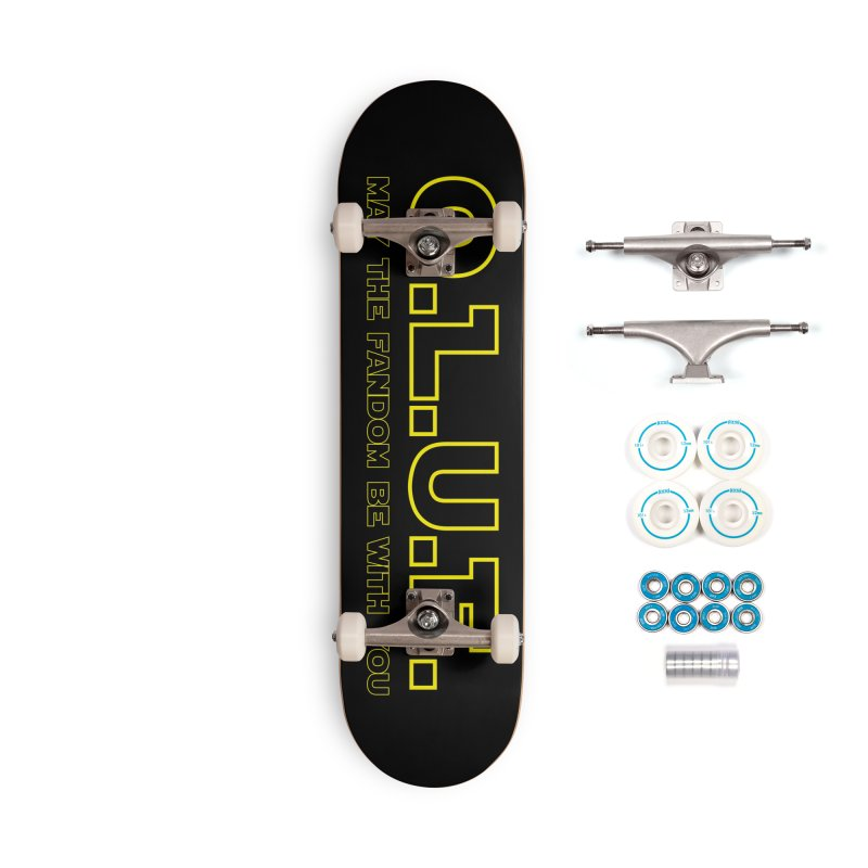 OLUF Star Wars Logo 4 Accessories Complete - Basic Skateboard by SteampunkEngineer's Shop