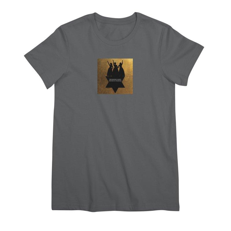 OLUF Hamilton Logo Women's Premium T-Shirt by SteampunkEngineer's Shop