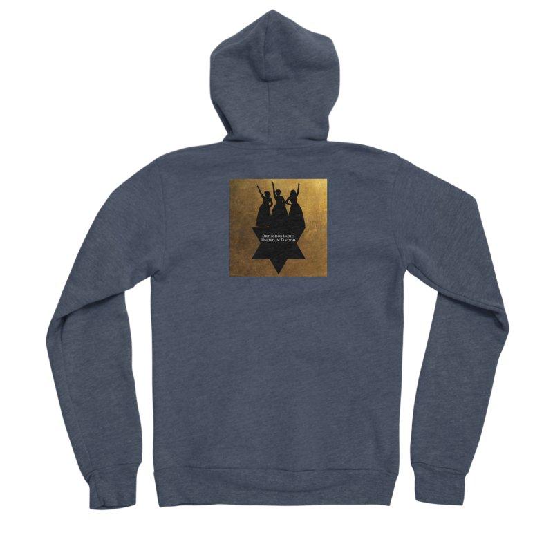 OLUF Hamilton Logo Men's Sponge Fleece Zip-Up Hoody by SteampunkEngineer's Shop