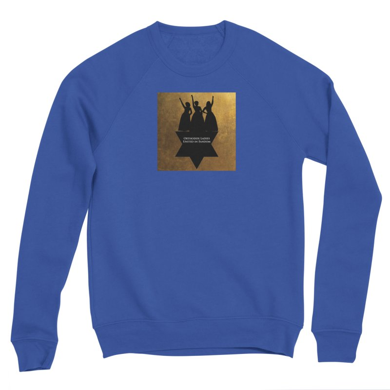 OLUF Hamilton Logo Men's Sponge Fleece Sweatshirt by SteampunkEngineer's Shop