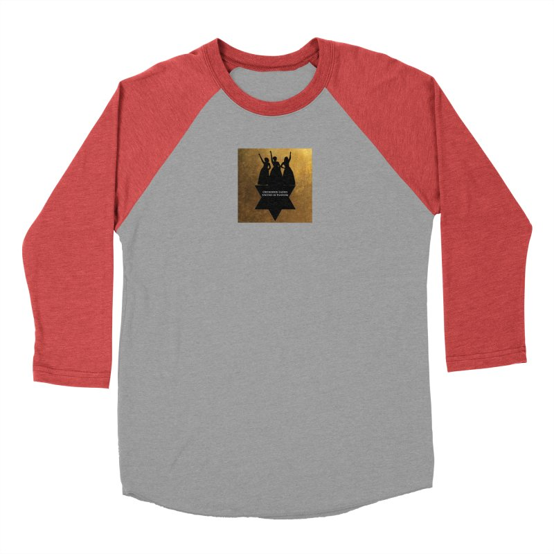 OLUF Hamilton Logo Women's Baseball Triblend Longsleeve T-Shirt by SteampunkEngineer's Shop