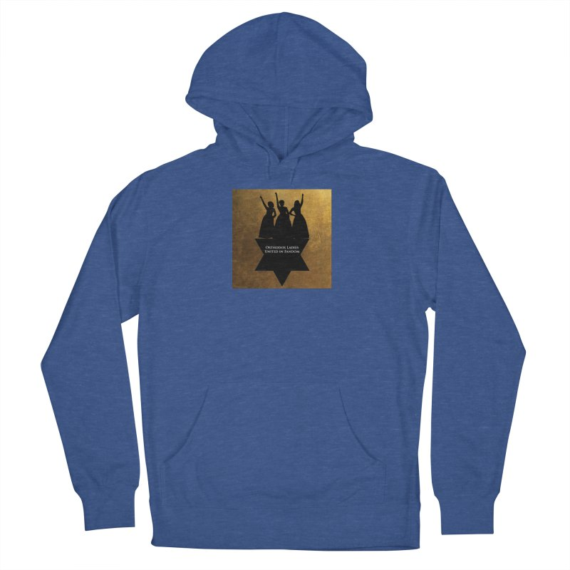 OLUF Hamilton Logo Women's French Terry Pullover Hoody by SteampunkEngineer's Shop