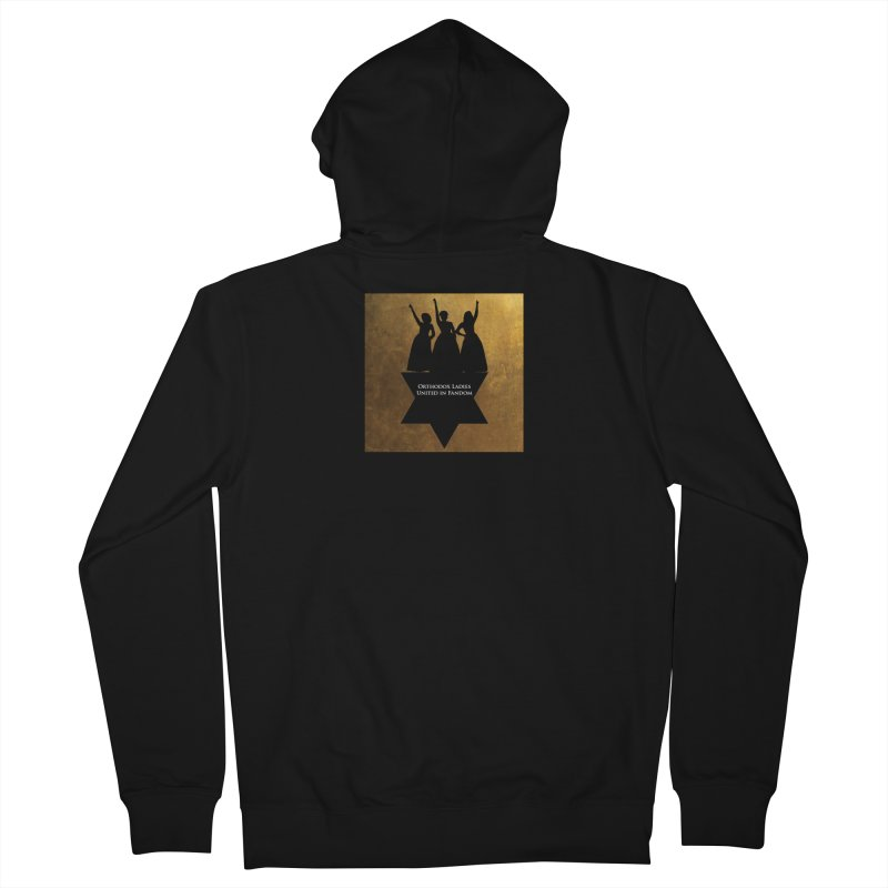 OLUF Hamilton Logo Women's French Terry Zip-Up Hoody by SteampunkEngineer's Shop