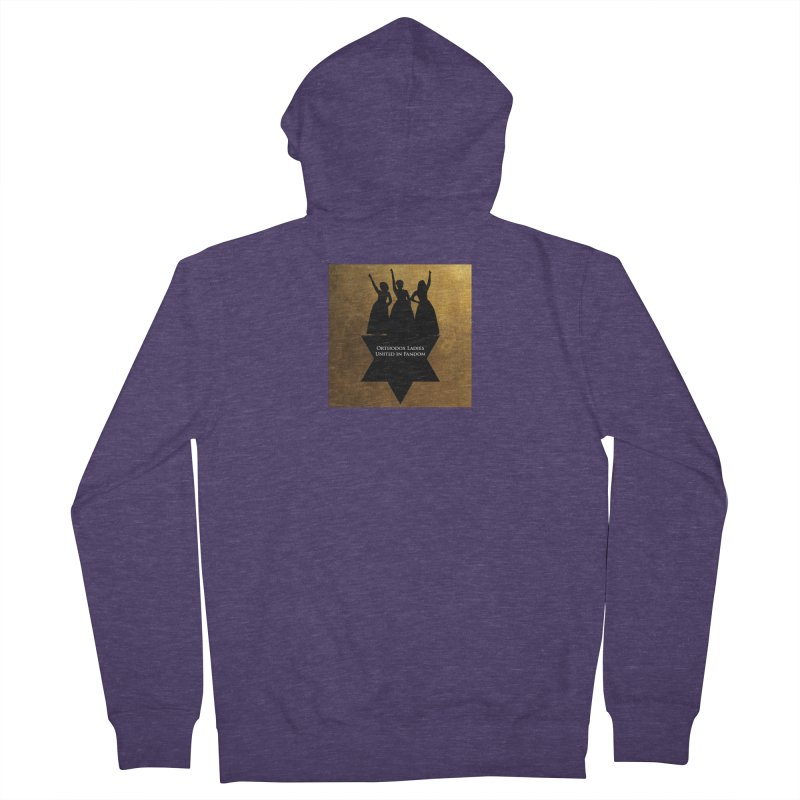 OLUF Hamilton Logo Men's French Terry Zip-Up Hoody by SteampunkEngineer's Shop