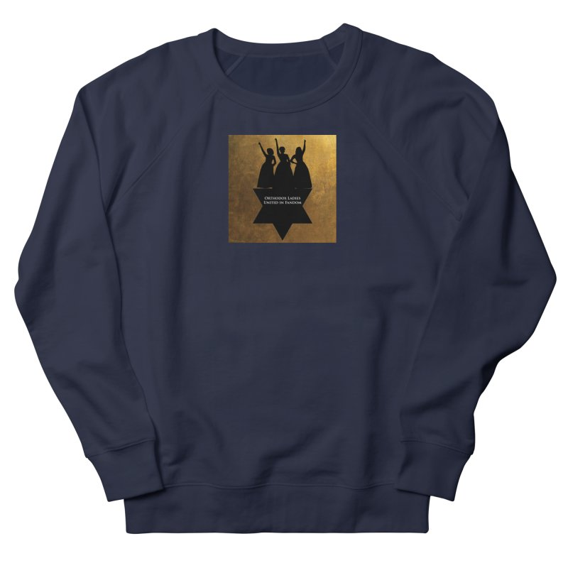 OLUF Hamilton Logo Men's French Terry Sweatshirt by SteampunkEngineer's Shop
