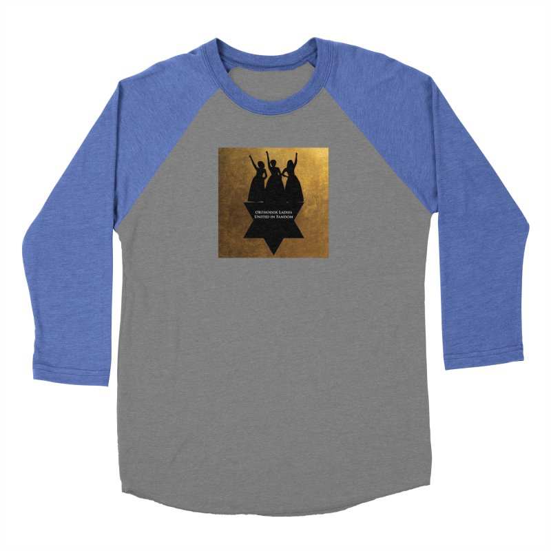 OLUF Hamilton Logo Men's Baseball Triblend Longsleeve T-Shirt by SteampunkEngineer's Shop