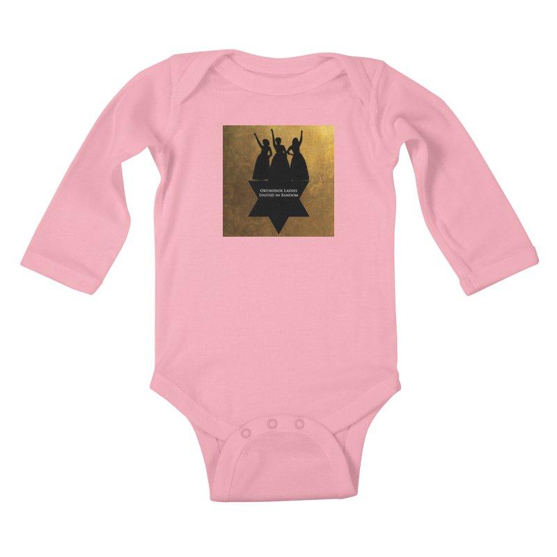 OLUF Hamilton Logo Kids Baby Longsleeve Bodysuit by SteampunkEngineer's Shop