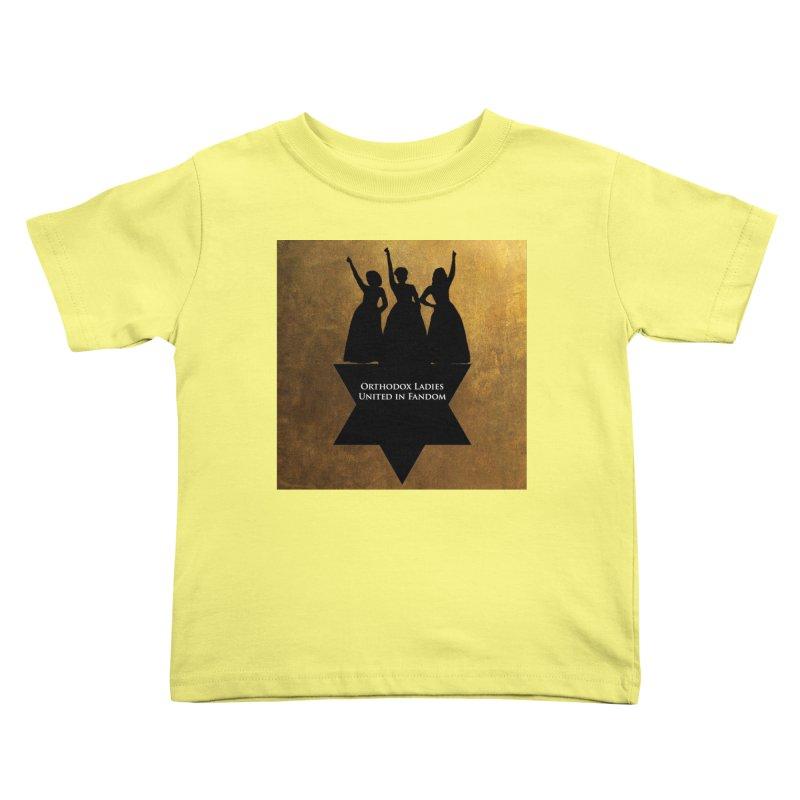 OLUF Hamilton Logo Kids Toddler T-Shirt by SteampunkEngineer's Shop