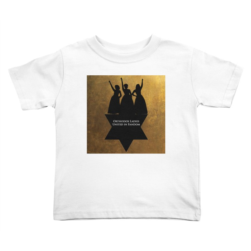 OLUF Hamilton Logo Kids Toddler T-Shirt by SteampunkEngineer's Shop