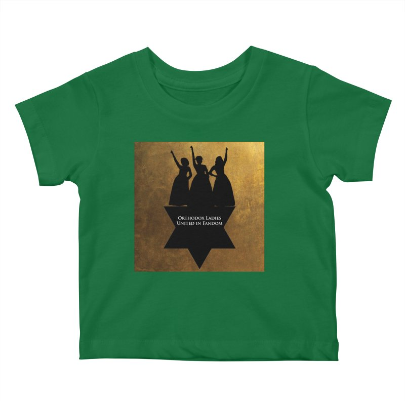 OLUF Hamilton Logo Kids Baby T-Shirt by SteampunkEngineer's Shop