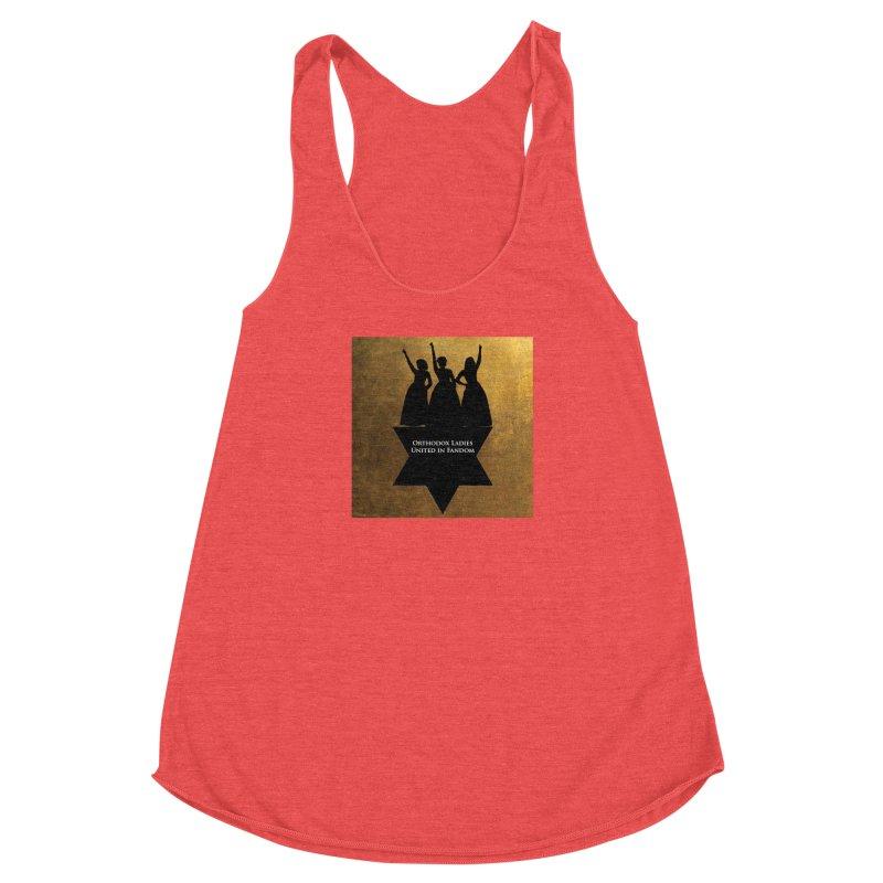 OLUF Hamilton Logo Women's Racerback Triblend Tank by SteampunkEngineer's Shop