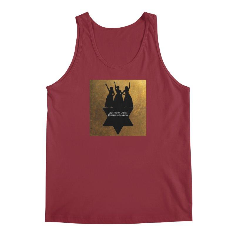 OLUF Hamilton Logo Men's Tank by SteampunkEngineer's Shop