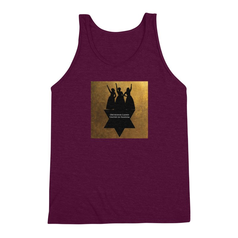OLUF Hamilton Logo Men's Triblend Tank by SteampunkEngineer's Shop