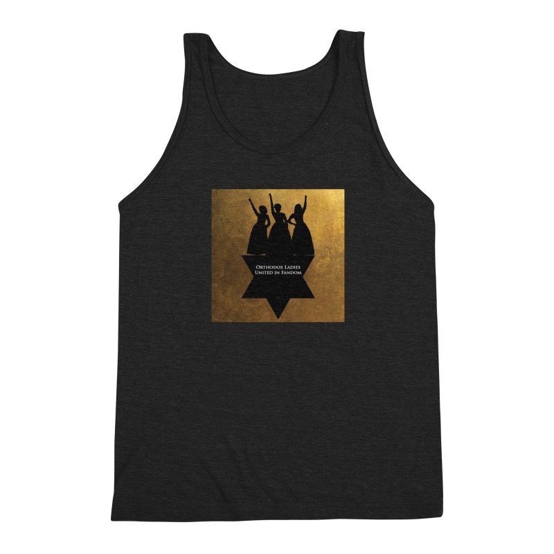 OLUF Hamilton Logo Men's Triblend Tank by SteampunkEngineer's Shop