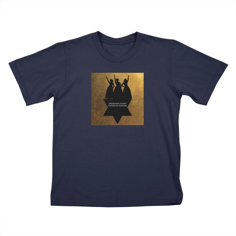 OLUF Hamilton Logo Kids T-Shirt by SteampunkEngineer's Shop
