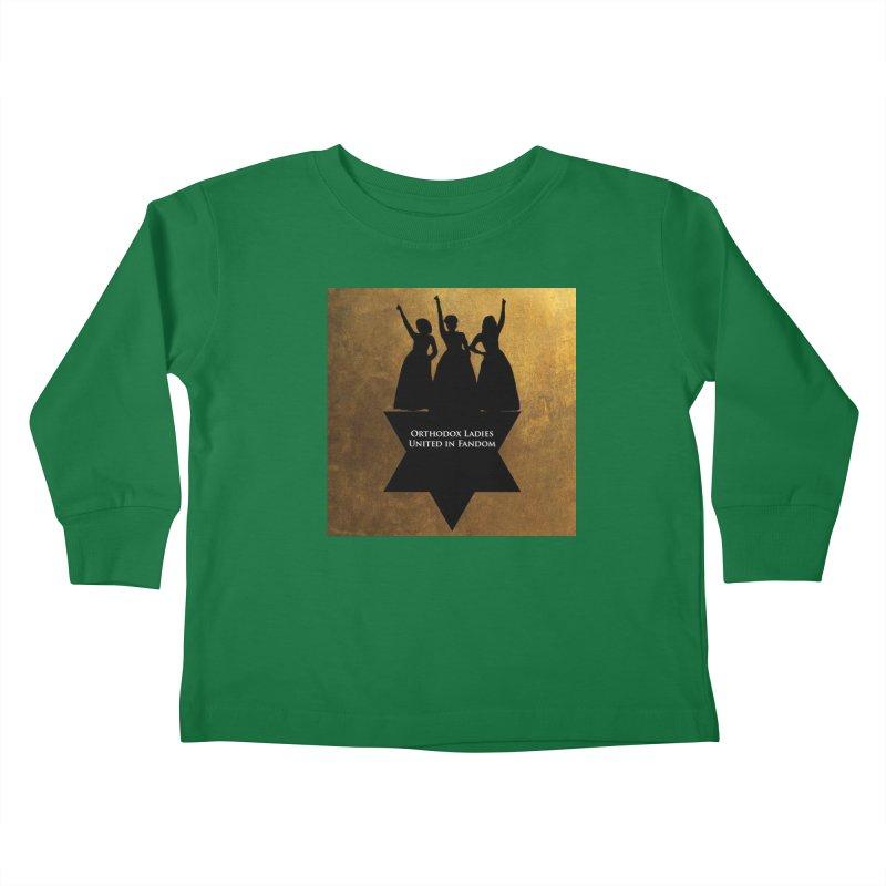 OLUF Hamilton Logo Kids Toddler Longsleeve T-Shirt by SteampunkEngineer's Shop