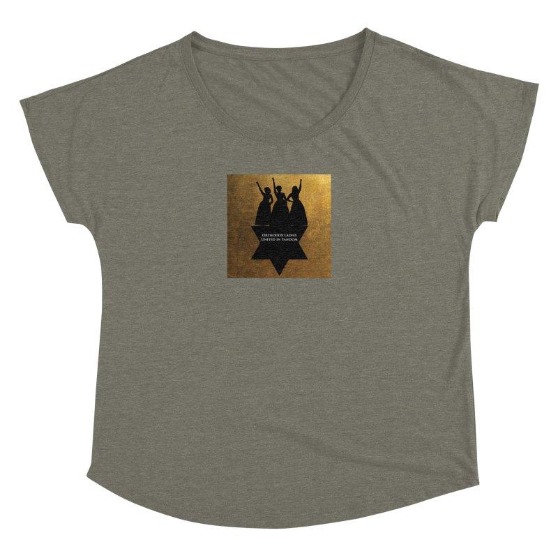 OLUF Hamilton Logo Women's Dolman Scoop Neck by SteampunkEngineer's Shop