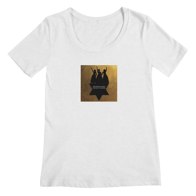 OLUF Hamilton Logo Women's Regular Scoop Neck by SteampunkEngineer's Shop