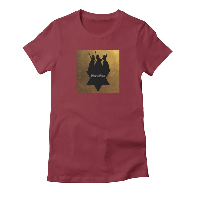 OLUF Hamilton Logo Women's Fitted T-Shirt by SteampunkEngineer's Shop