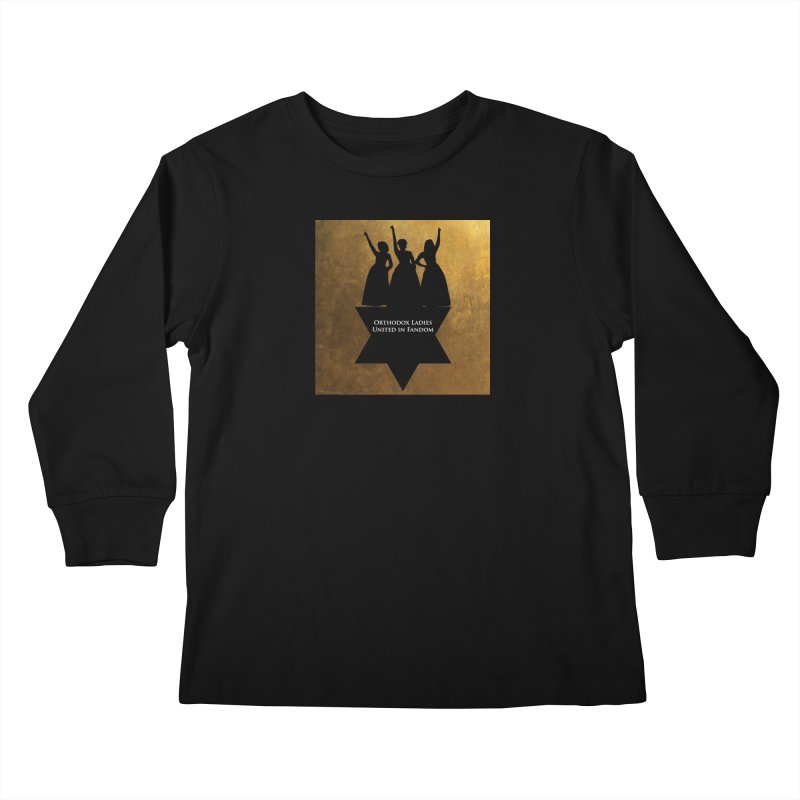 OLUF Hamilton Logo Kids Longsleeve T-Shirt by SteampunkEngineer's Shop