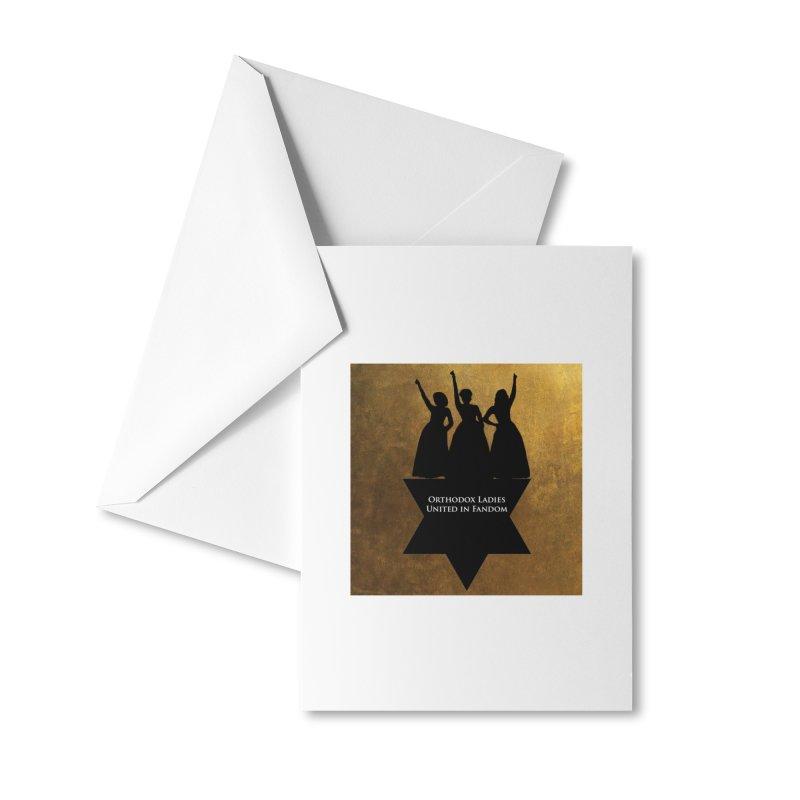 OLUF Hamilton Logo Accessories Greeting Card by SteampunkEngineer's Shop