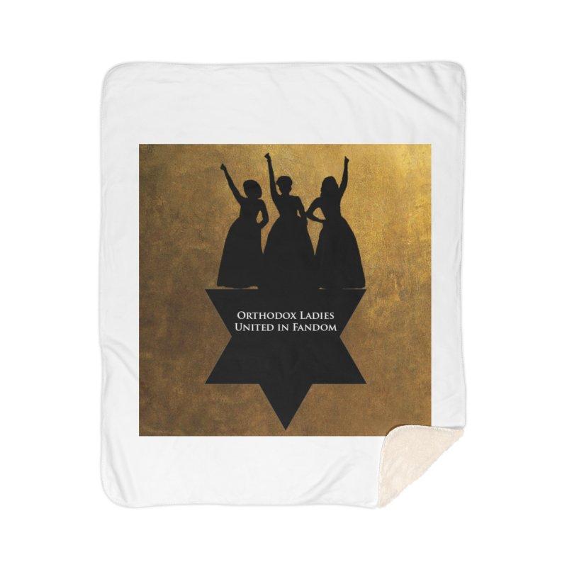 OLUF Hamilton Logo Home Sherpa Blanket Blanket by SteampunkEngineer's Shop