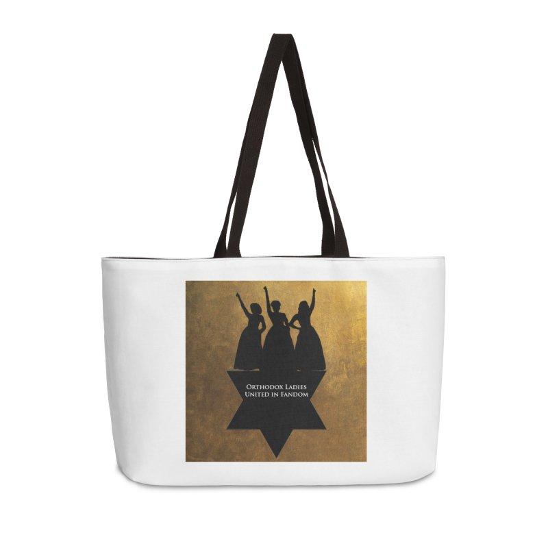 OLUF Hamilton Logo Accessories Weekender Bag Bag by SteampunkEngineer's Shop